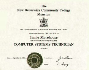 Computer Systems Technician Diploma