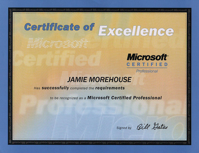 Microsoft Certified Professional Certification Jemtech Solutions