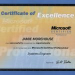 Microsoft Certified Systems Engineer Certification